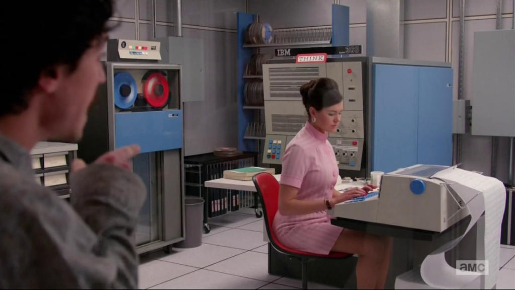 The Mad Men meet the IBM 360